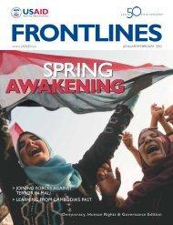 FrontLines - January-February 2012 : Spring Awakening ... - usaid