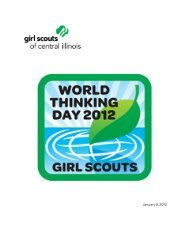 January 9, 2012 - Girl Scouts of Central Illinois