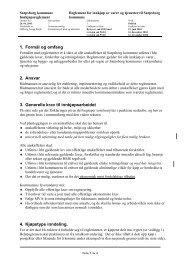 Reglement for innkjøp av varer og tjenester - Sarpsborg kommune
