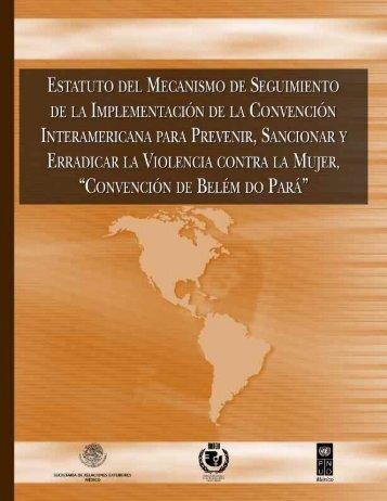 Convención Interamericana para Prevenir, Sancionar y ... - CONAVIM