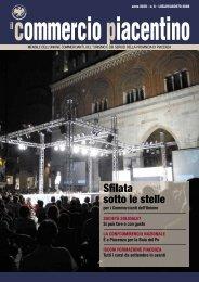 Sfilata sotto le stelle - Unione Commercianti di Piacenza
