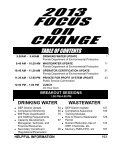 2013 Focus on Change Procedures Manual - Florida Rural Water ... - Page 3