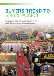 Buyers Trend to Green Fabrics, OR Show, August '06 - FabricLink