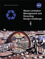 Waste Limitation Management and Recycling Design ... - NASA