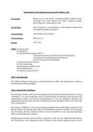 Protokoll der Fachschaftsratssitzung vom 06. Oktober 2011 ...