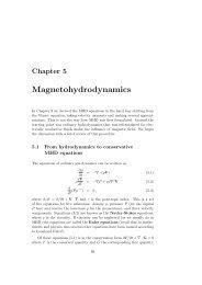 Magnetohydrodynamics