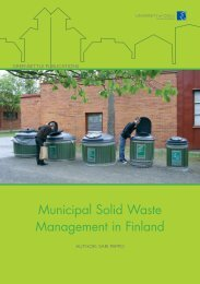 Municipal solid waste management in Finland.pdf - NorTech Oulu