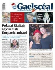 • Polasaí Rialtais ag cur cistí Eorpach i mbaol - PageSuite