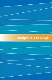 Straight Talk on Drugs - Government of Nova Scotia