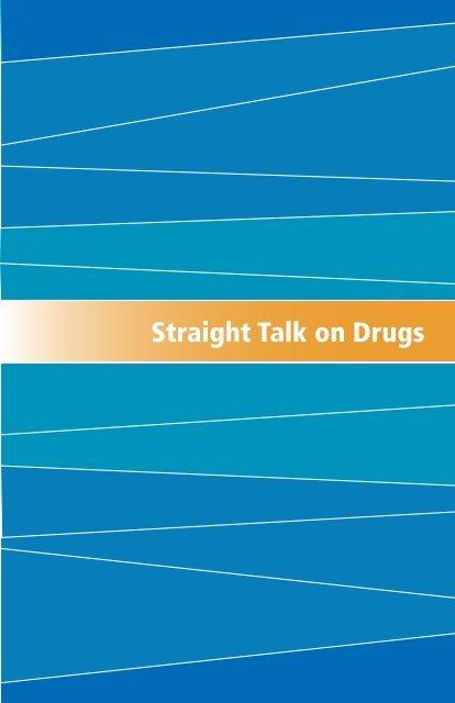 Straight Talk on Drugs - Government of Nova Scotia