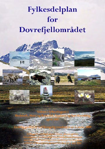 Fylkesdelplan for Dovrefjellområdet - Møre og Romsdal ...