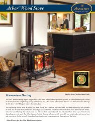 Arbor™ Wood Stove - Avalon