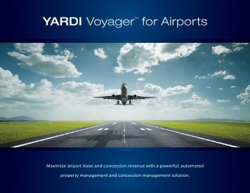 Voyager for Airports - Yardi