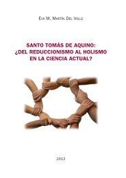 del reduccionismo al holismo en la ciencia actual? - Universidad de ...