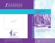 Psicoeducacion familiar - SAMHSA Store - Substance Abuse and ...