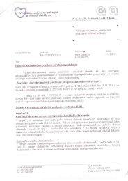 Vysvetlenie súťažných podkladov - Východoslovenský ústav ...