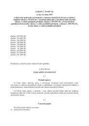 ZÁKON Č. 19/1997 Sb. ze dne 24. ledna 1997 o některých ...