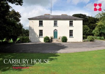 Click Here to view Carbury House Brochure