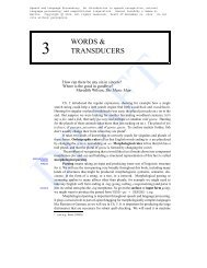 words & transducers - Web word processing, presentations and ...