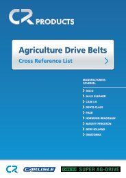 Agriculture Drive Belts