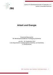 Arbeit und Energie - Zentrum für Betriebswirtschaft im Gartenbau eV ...