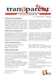 Was ist das transparent? - StuRa - TU Chemnitz