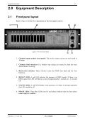 FP Dimmer Rack Mount Operating Manual - Jands - Page 6