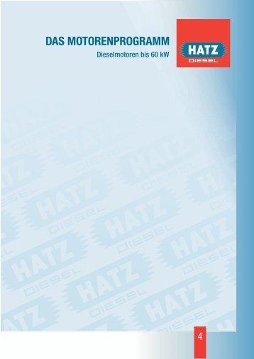 DAS MOTORENPROGRAMM - Hatz