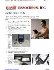 Cardio Stress ECG - Nasiff