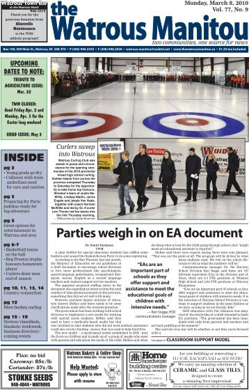 March 8, 2010.pdf - Watrous Heritage Centre