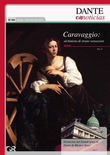 Caravaggio: alchimista di strane sensazioni - Asociación Dante ...