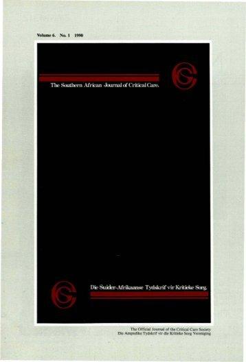 1990 No.1 Vol.6.pdf - SAJCC Archive Browser - Southern African ...