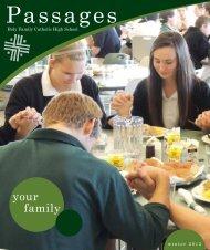 your family - Holy Family Catholic High School