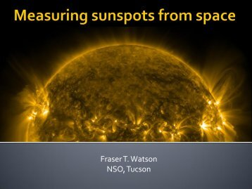Fraser T. Watson NSO, Tucson
