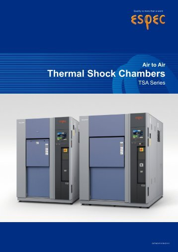 Thermal Shock Chambers - MB Electronique