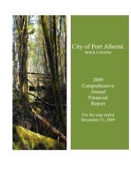 1993 fs letter - City of Port Alberni