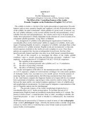 ABSTRACT By Prof/Dr Mohammad Anani Department of English ...