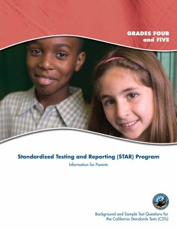 Grades 4 & 5 - Standardized Testing and Reporting - STAR