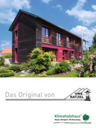 Download: Prospekt Klimaholzhaus - Uwe Ratzel Zimmerei ...