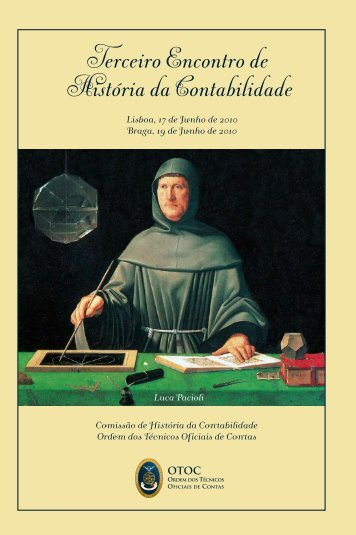 Terceiro Encontro de História da Contabilidade - Ordem dos ...