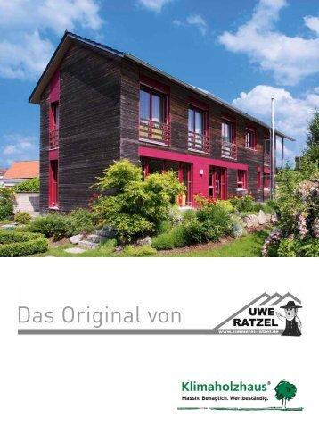 Das Original von - Uwe Ratzel Zimmerei - Holzbau GmbH