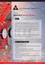 1 SAT II, 6 - Man Saturation System - 180 Metres (PDF Format)