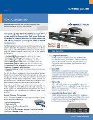 RDX® QuikStation™ - Tandberg Data