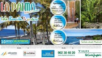 Isla Bonita.Te gustará - Viajes El Corte Inglés