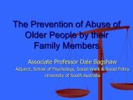 Elder Abuse Prevention Action Plan - Australian Domestic and ...
