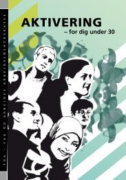 Aktivering for dig under 30 - FOA