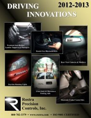 2012-2013 Product Guide - Rostra