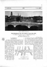 Die Brttckenbauten der Stadt Berlin seit dem Jahre 1897.