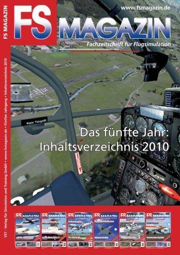 Jahresinhaltsverzeichnis 2010.indd - FS Magazin