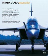 Magazine_1 (Download: pdf, Size: 3 MB) - Finmeccanica